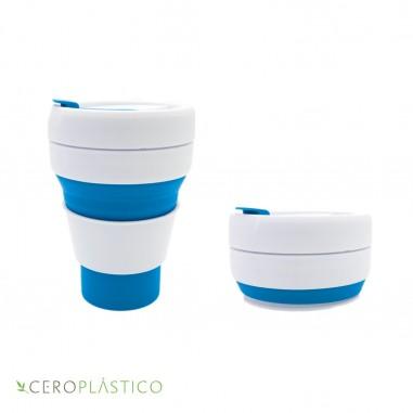 Vaso para café pleglable Cero Plástico