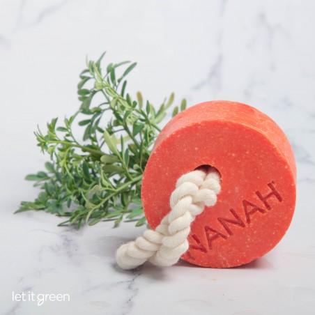 Shampoo de mandarina - Cabello graso Nanah Sustentable