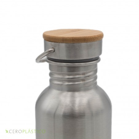 Botella de Acero Inoxidable 750 ml Cero Plástico