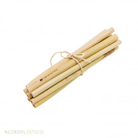 Popote de bambú Cero Plástico