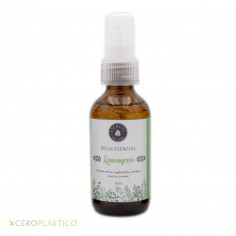 Spray anti estrés Lemongrass (Té limón) Esenciel Cosmética Natural