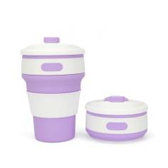Vaso plegable para bebidas calientes 350 ml Cero Plástico