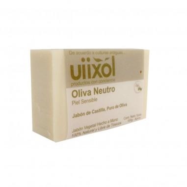 Jabón Neutro de Castilla Puro de Oliva Uiixol