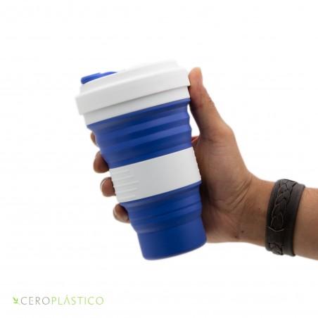 Vaso plegable 550 ml. Cero Plástico