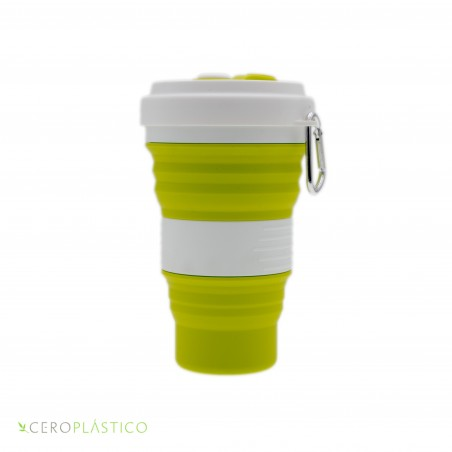 Vaso plegable 550 ml. Cero Plástico