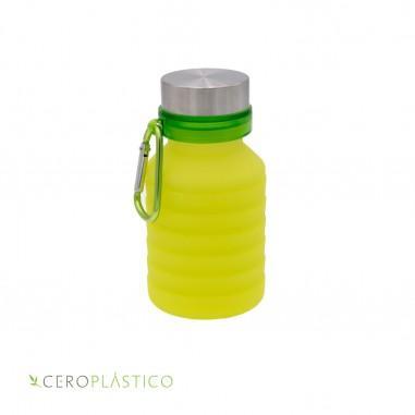 Botella plegable para agua Cero Plástico