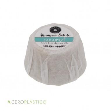 Shampoo sólido para cabello normal coco Esenciel Cosmética Natural