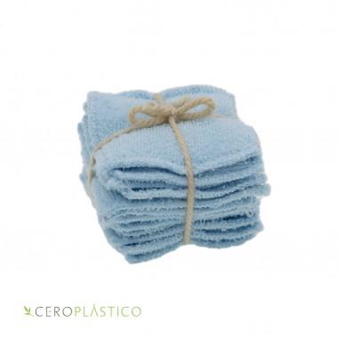 12pack Pads desmaquillantes algodón Cero Plástico