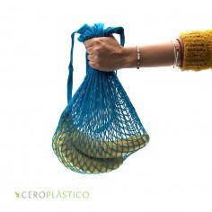 Bolsa red 100% algodón Cero Plástico