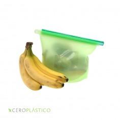 Bolsa silicon grande 1500 ml Cero Plástico