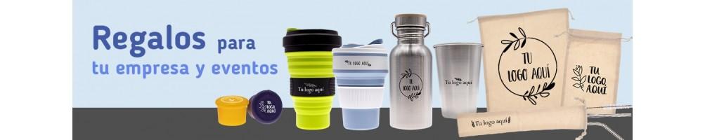 Productos y promocionales ecológicos impresos con tu logo
